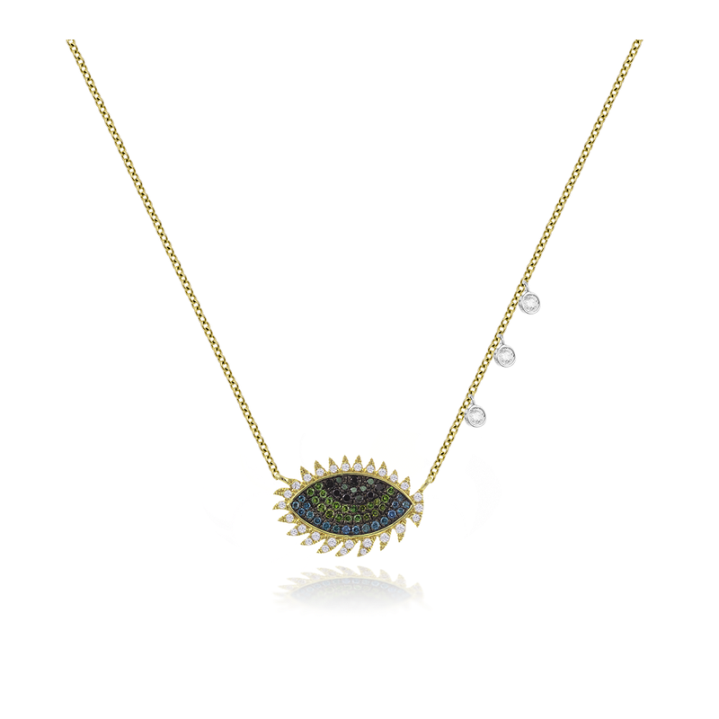 Meira T Lashes Evil Eye Necklace