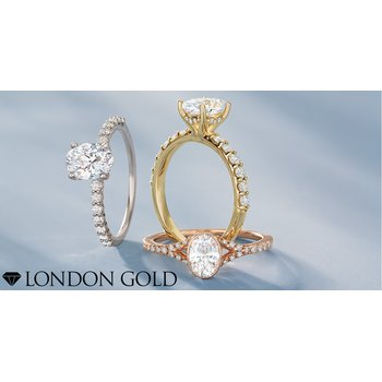 Oval Engagement Ring Setting 14KW