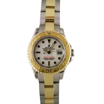 Lady Yachtmaster Steel & 18KY