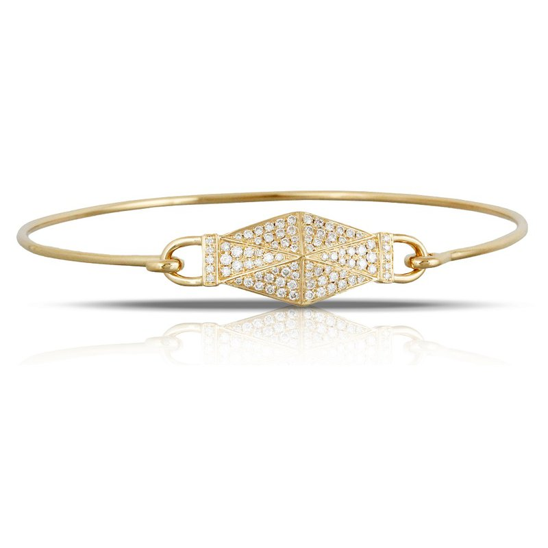 Doves Diamond Fashion Bangle