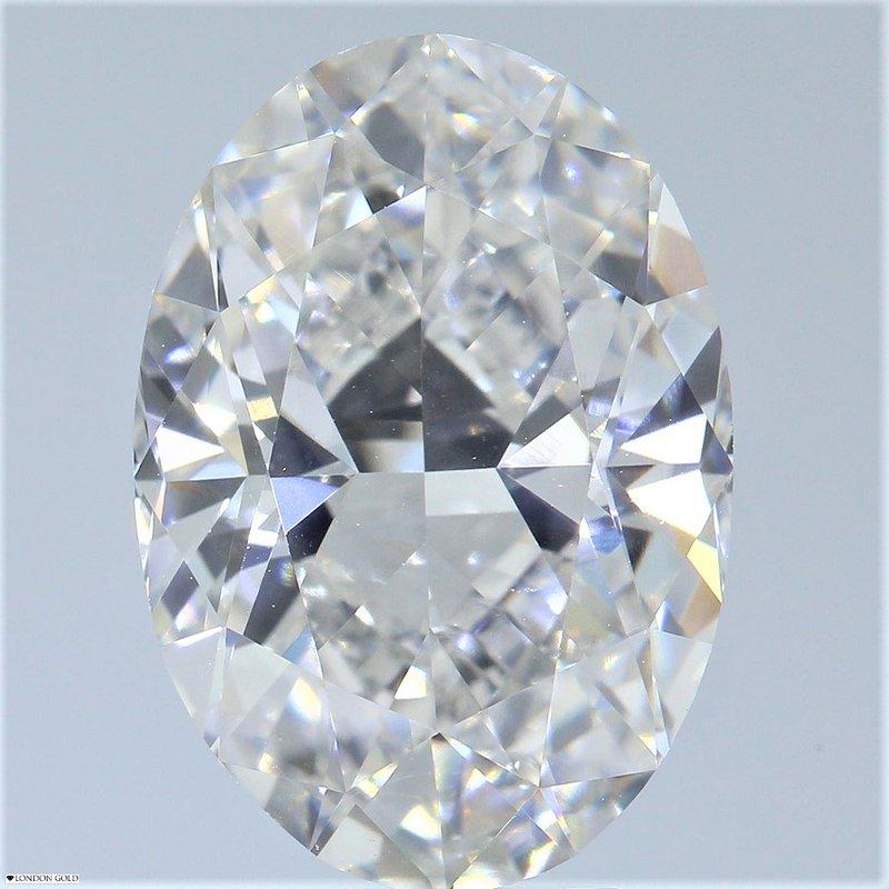 HPHT Diamonds Oval 5.03 I VVS1