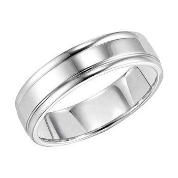 14K Comfort Fit Engraved Wedding Band
