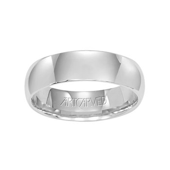 Palladium Plain Wedding Band