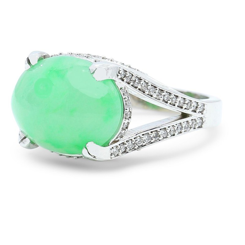 Daniels Designs Jadeite Ring