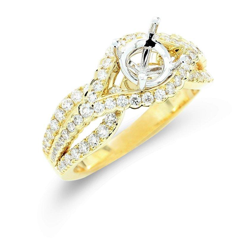Isadora Diamond Engagement Setting 18KY