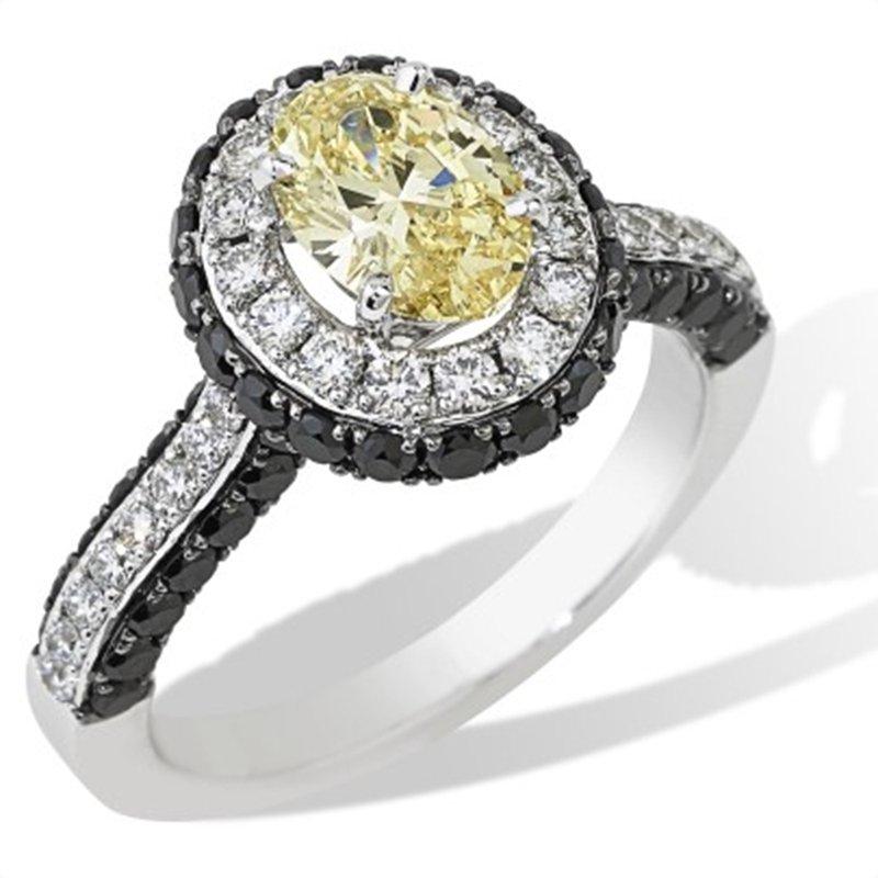 Isadora Halo Diamond Engagement Ring