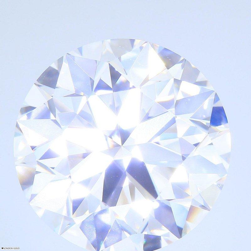 HPHT Diamonds Round Brilliant 10.23 E VS2