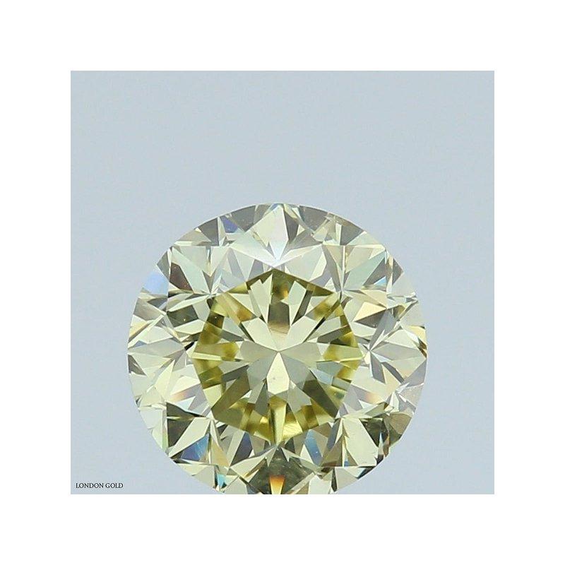 Colored Diamonds 1.01 FBGY-VS2 Round