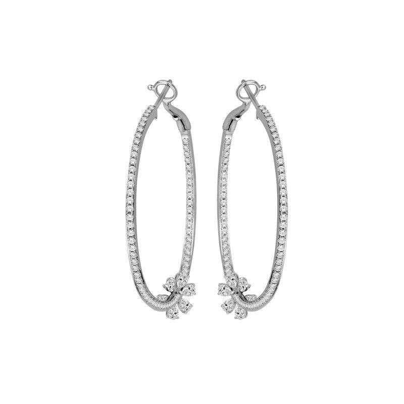 Isadora Diamond Hoops