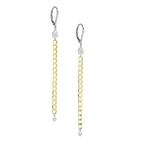 Meira T Chain Dangle Earrings 14K