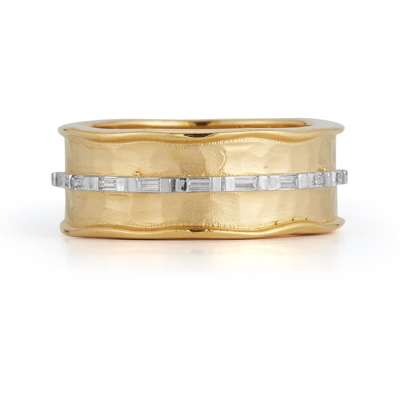 I. Reiss Channel Ring 14KY