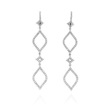 Yaelita Dangle Earrings 18KW