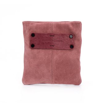 Ariella Mix Pocket Pink Suede