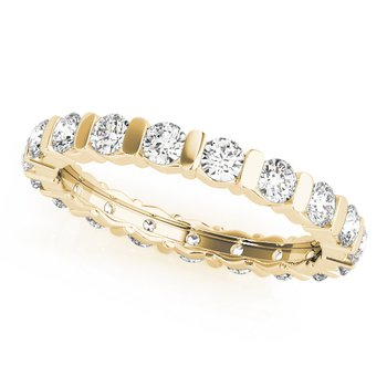 2.16ctw Channel Eternity Band