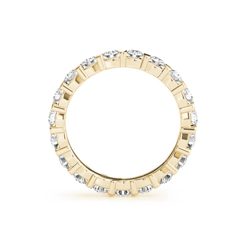 London Gold Designs 2.16ctw Channel Eternity Band