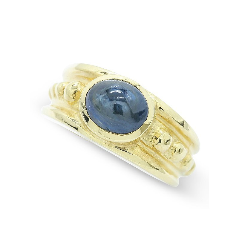 Estate Jewelry Cabochon Sapphire Ring