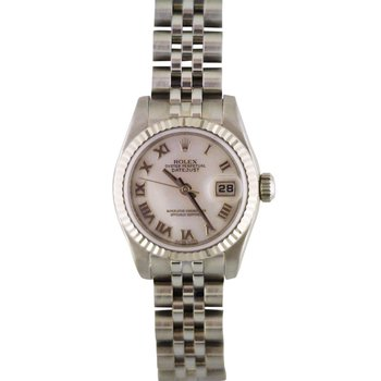 Rolex Lady Datejust Steel & 18KW 179174 Pre-Owned