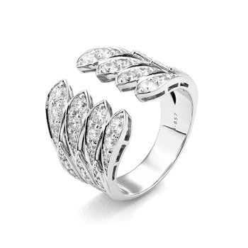 Art Deco Line Ring