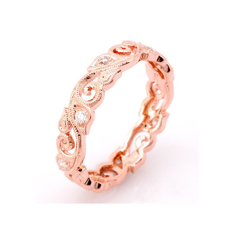 Beverley K Scroll Diamond Ring