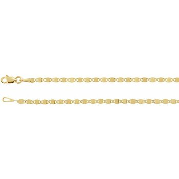 """Mirror Link Chain 18"""" 14KY"""