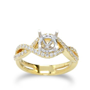 Infinity Design Engagement Setting 18KY