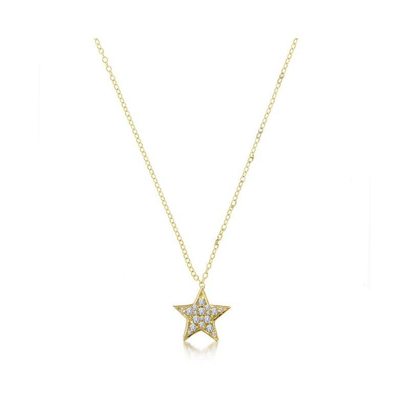 Meira T Diamond Star Pendant