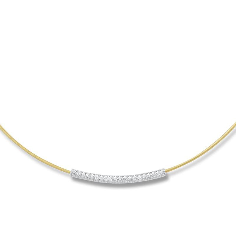 I. Reiss 14k Yellow Wire Necklace