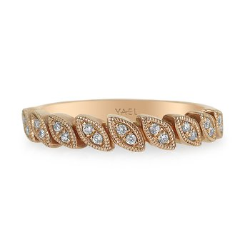 Marquise Shape Diamond Band 18KR