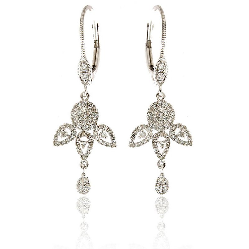 Meira T Floral Dangles