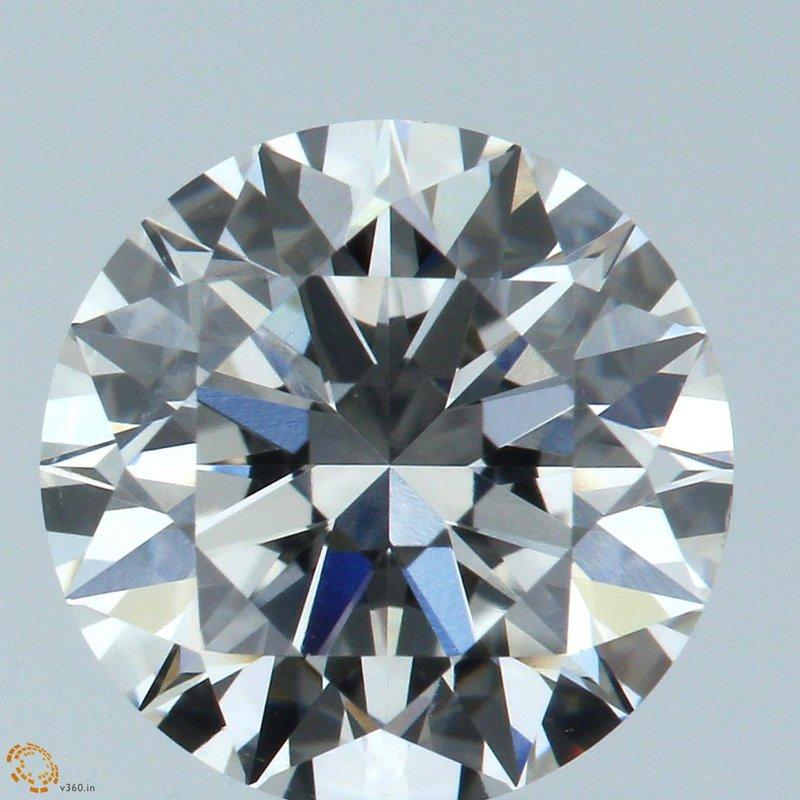 HPHT Diamond Round 1.25 E VVS1