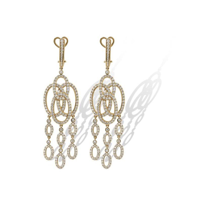 Isadora Dangle Chandelier Earrings