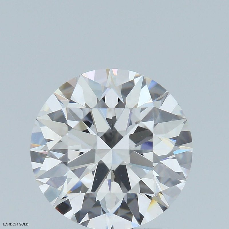 HPHT Diamonds Round Brilliant 1.63 E Internally Flawless