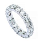 Lunaria Eternity Diamond Band 4.03ctw