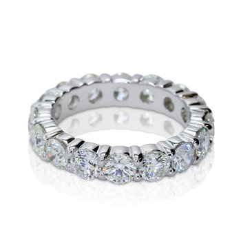 Eternity Diamond Band 4.03ctw