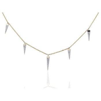 Dagger Station Necklace