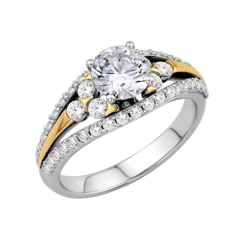 Isadora Vintage Engagement 18K - Setting Only