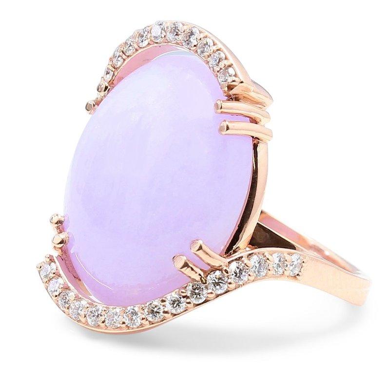 Daniels Designs Lavender Jade Ring