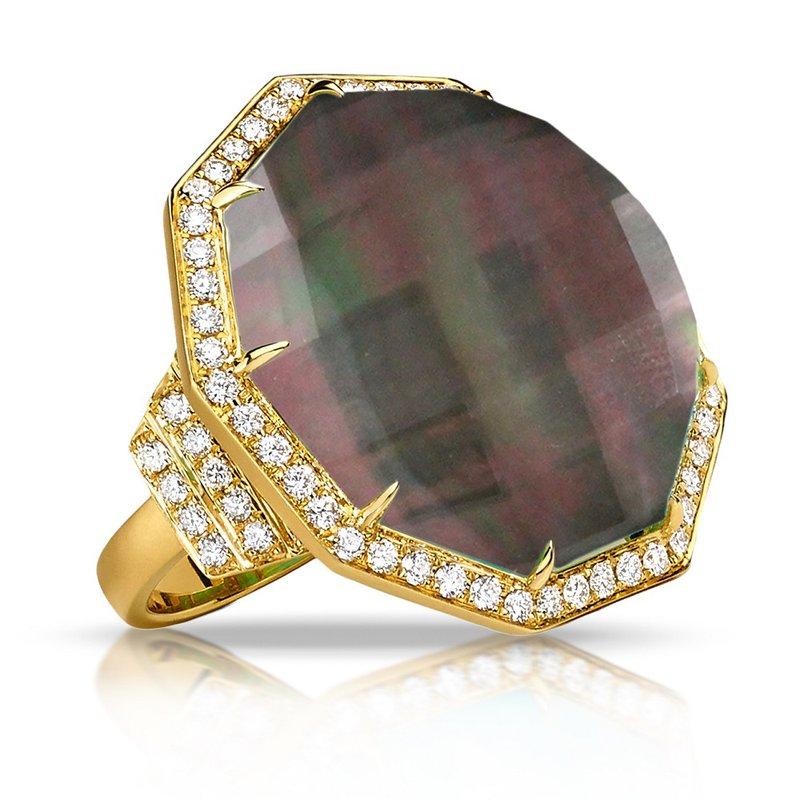 Doves Luna Diamond Halo Ring