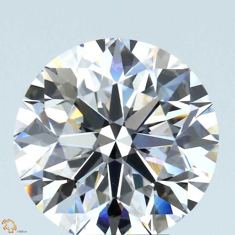 HPHT Diamond Round 5.01 E VS1