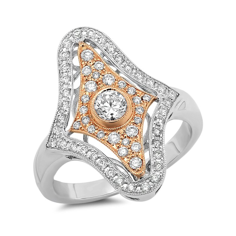 Beverley K Vintage Fashion Ring