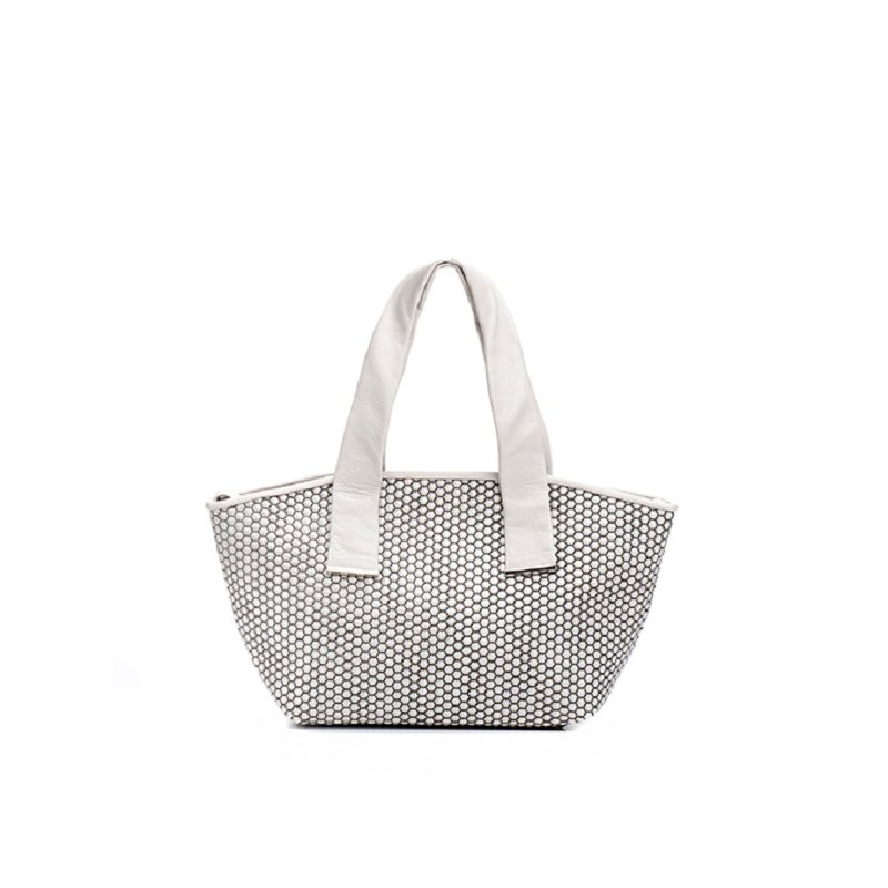 Daniella Lehavi Alexa Tote Medium Black/White