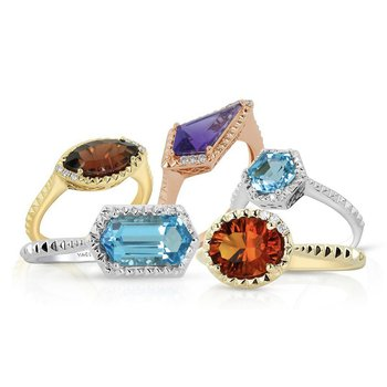 Marquise Garnet Ring 14KY