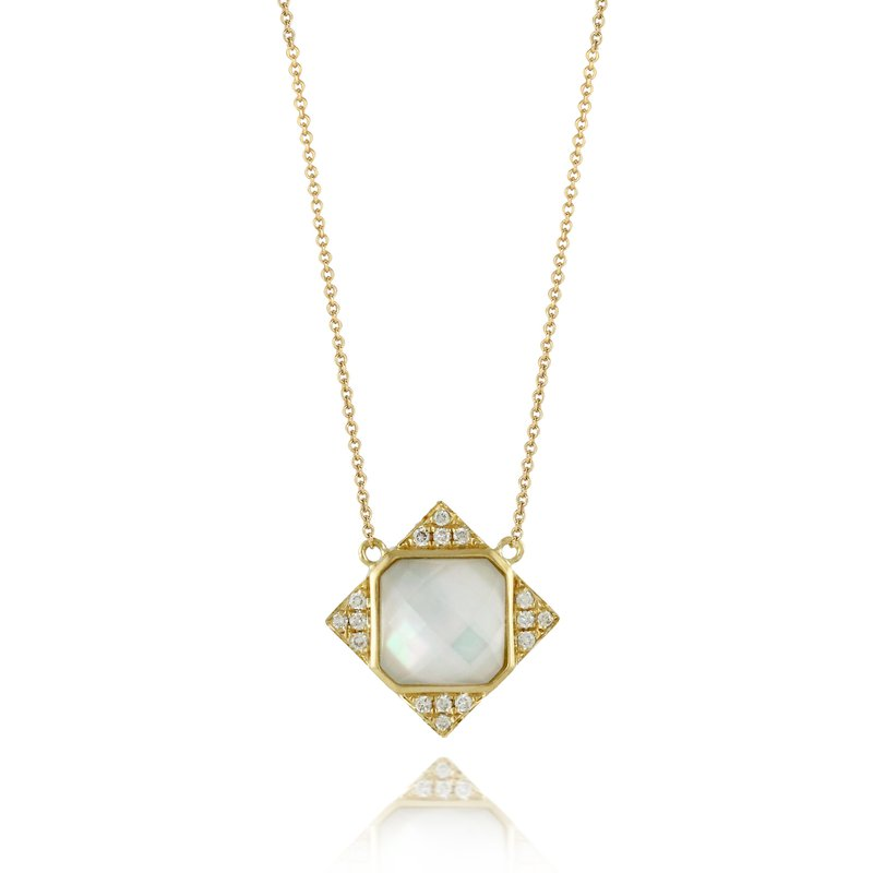 Doves White Orchid Necklace