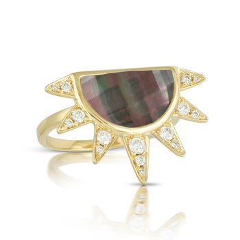 Luna Sunburst Ring