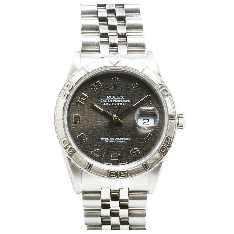 Rolex Pre-Owned Watches Turnograph Datejust Jubilee Dial Stainless 16264