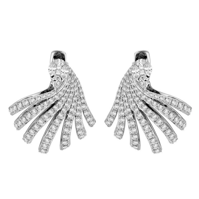Isadora Diamond Drop Earrings