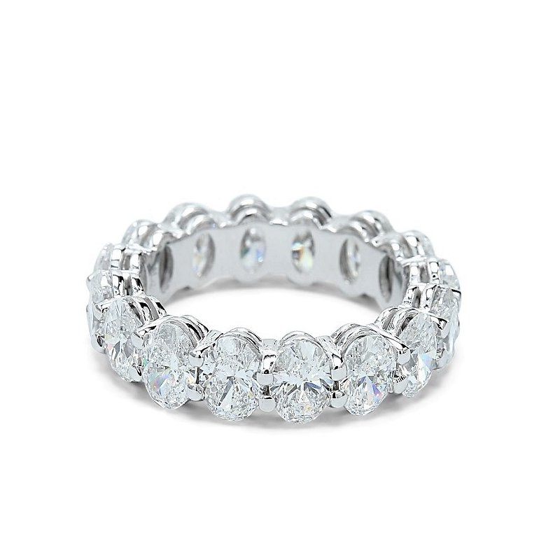 Lunaria Oval Diamond Eternity Band - Custom Order