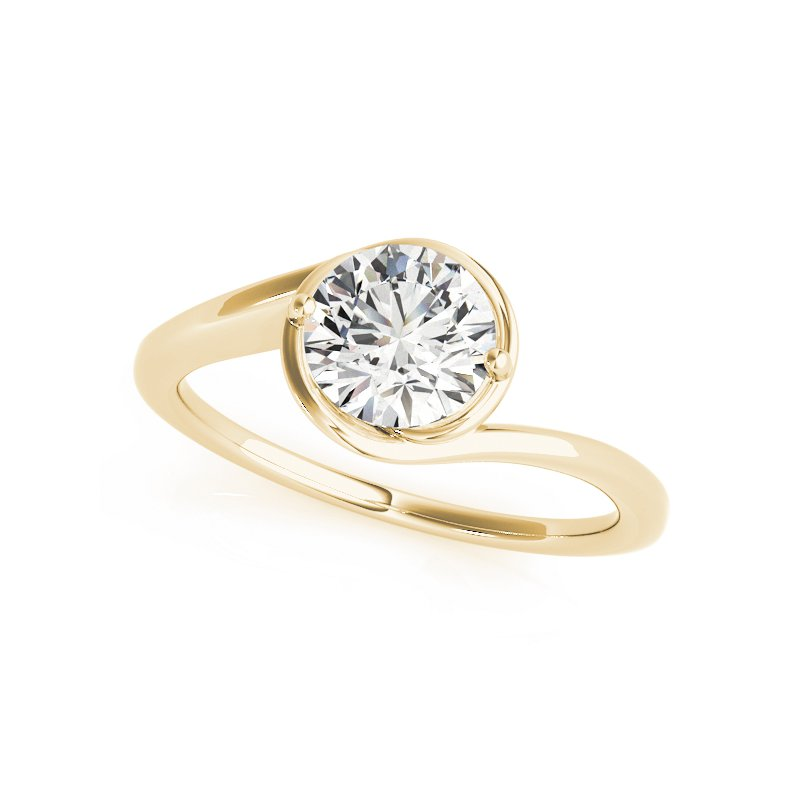 Gallery Designs Bezel Set Solitaire Setting Only