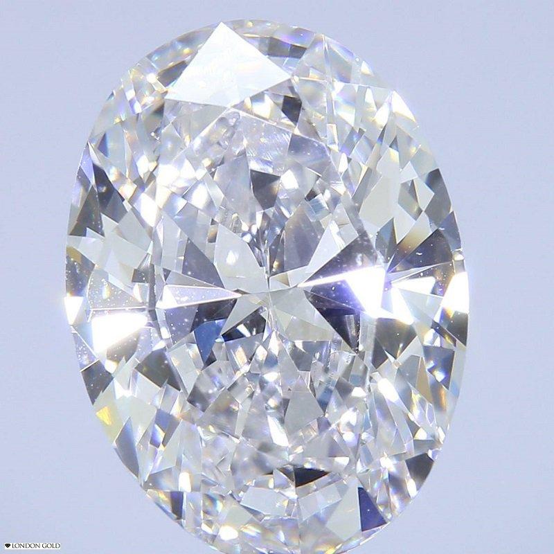 HPHT Diamonds Oval 3.19 G VVS1