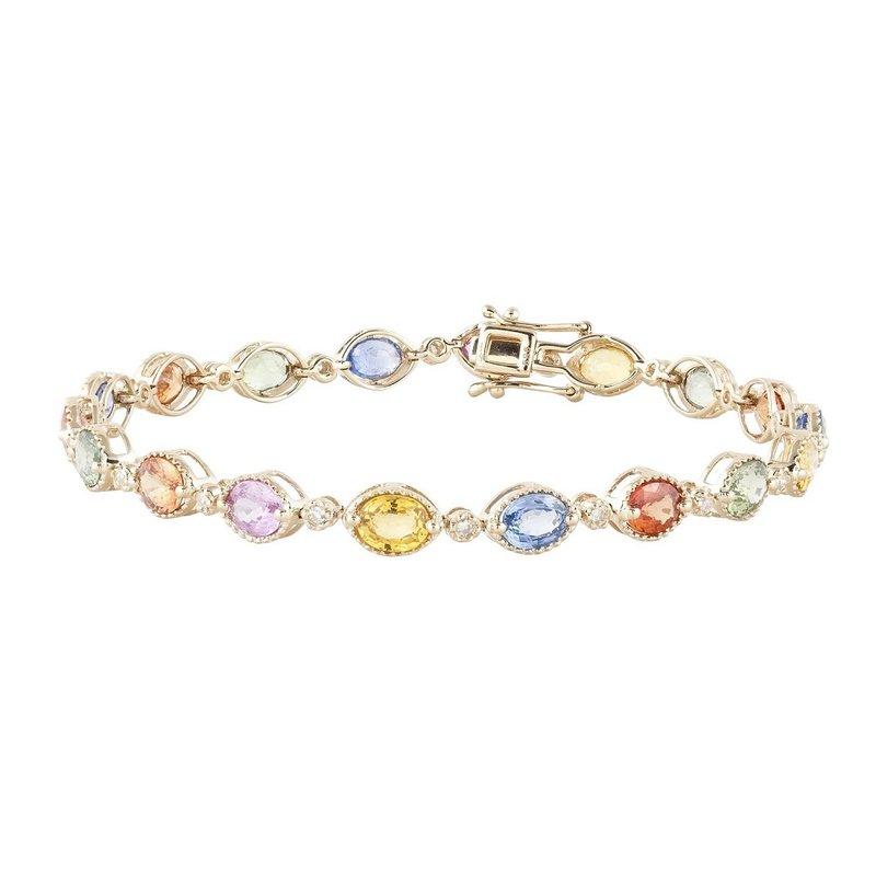 Sophia by Design Rio Sapphire Diamond Bracelet
